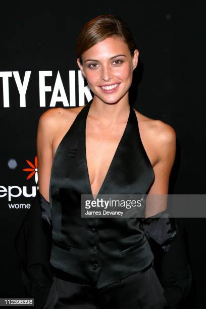 Josie Maran during Vanity Fair 'In Concert' Series Launch Party at Donna Karan New York Flagship in New York City New York United States