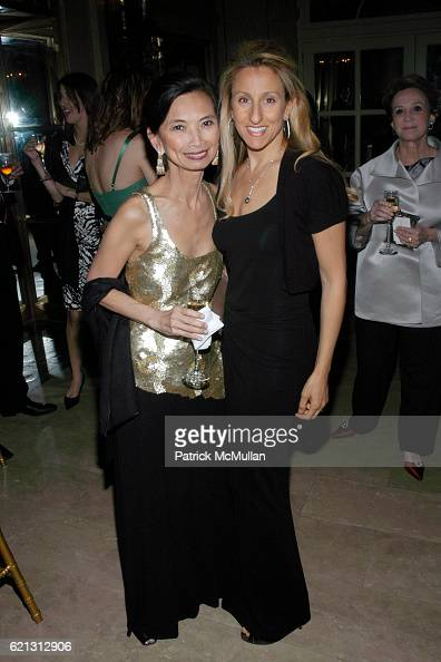 Josie Natori and Georgia Frash attend THE ORCHESTRA OF ST LUKE'S 2008 Spring Gala at The Plaza Hotel on May 12 2008 in New York City