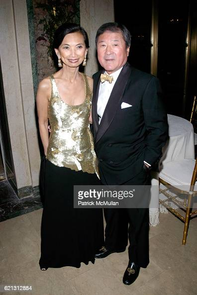 Josie Natori and Ken Natori attend THE ORCHESTRA OF ST LUKE'S 2008 Spring Gala at The Plaza Hotel on May 12 2008 in New York City