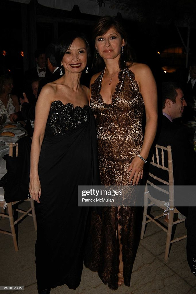 Josie Natori and Maria Bartiromo attend New York City Ballet Spring Gala at New York State Theater on May 4 2005 in New York City
