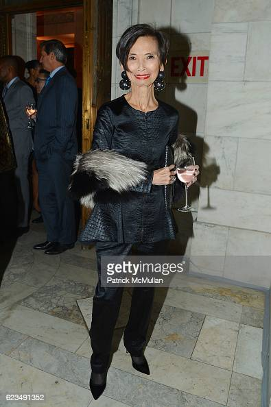 Josie Natori attends David Monn Launches 'The Art of Celebrating' at New York Public Library on November 14 2016 in New York City
