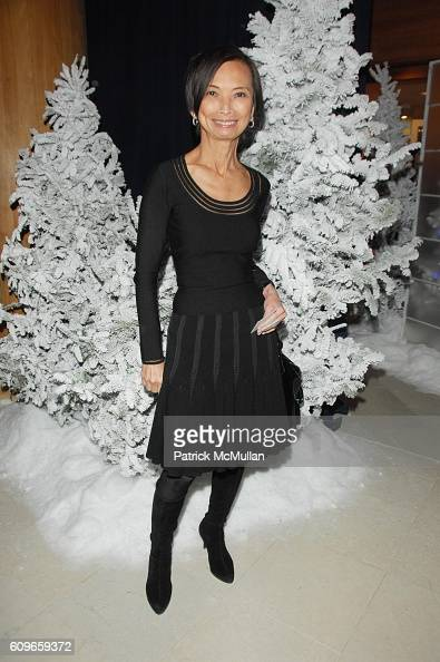 Josie Natori attends STEVE SADOVE hosts SAKS FIFTH AVENUE Annual Holiday Luncheon at SAKs Fifth Avenue NYC on December 11 2007 in New York City