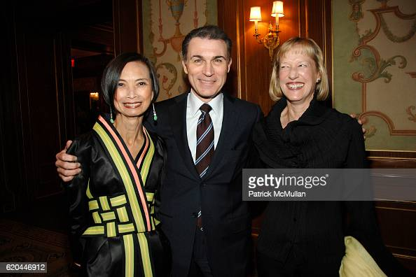 Josie Natori Joseph Boitano and Linda DeFrances attend 25th Annual Women In Need Gala Dinner Hosted By Meredith Vieira at The Pierre Hotel on April 9...