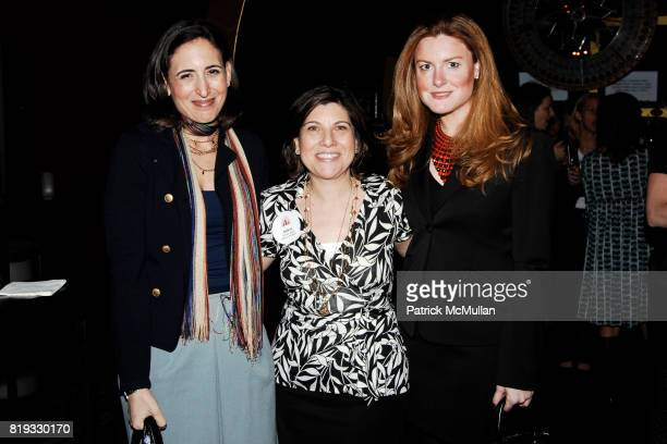 Josie Sandler Andrea Rosen and Sheila Lennon attend LITERACY ASSOCIATES Second Annual Benefit for LITERACY PARTNERS at Carnival on April 27 2010 in...