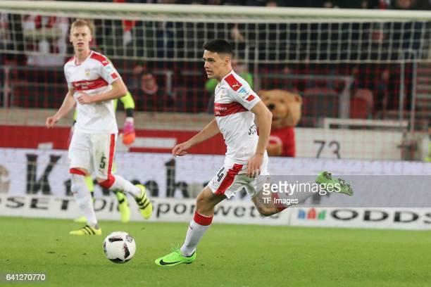 Josip Brekalo of Stuttgart in action during the Second Bundesliga match between VfB Stuttgart and Fortuna Duesseldorf at MercedesBenz Arena on...