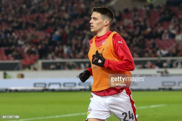 Josip Brekalo of Suttgart looks on during the Second Bundesliga match between VfB Stuttgart and Fortuna Duesseldorf at MercedesBenz Arena on February...