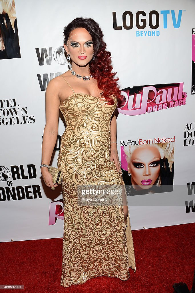 <a gi-track='captionPersonalityLinkClicked' href=/galleries/search?phrase=Joslyn+Fox&family=editorial&specificpeople=12482530 ng-click='$event.stopPropagation()'>Joslyn Fox</a> attends Logo TV's 'RuPaul's Drag Race' season 6 reunion taping at The Theatre at Ace Hotel Downtown LA on May 6, 2014 in Los Angeles, California.