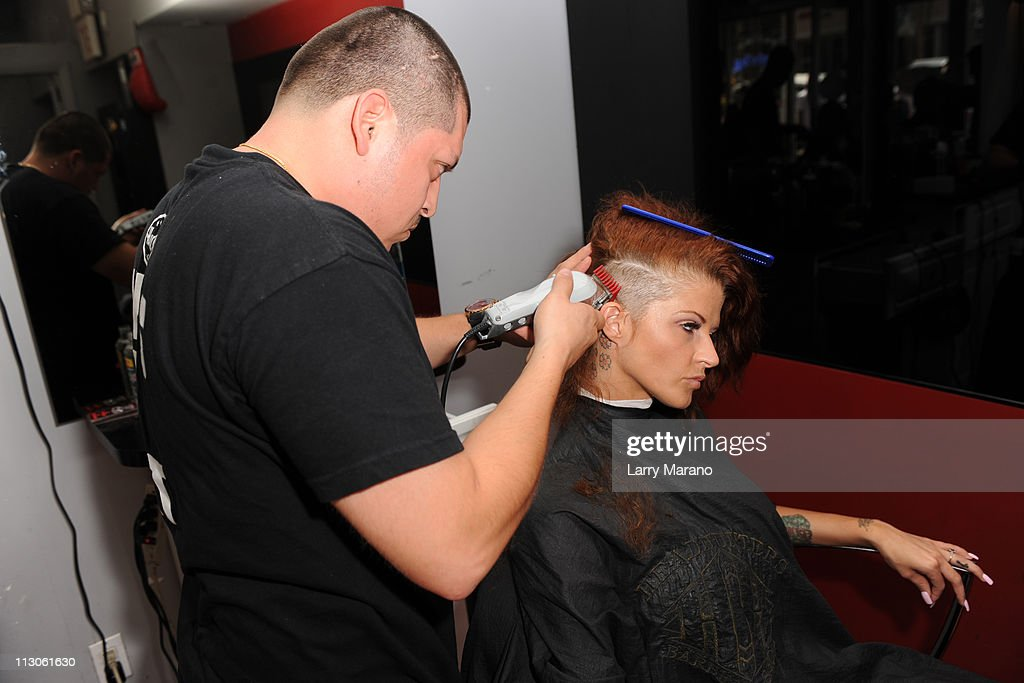 ... Fame barber shop on April 22, 2011 in Miami Beach, Florida. Show more