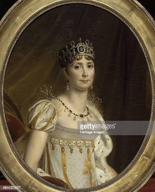 Joséphine de Beauharnais the first wife of Napoléon Bonaparte 1801 Found in the collection of the Musée national des châteaux de Malmaison et de...