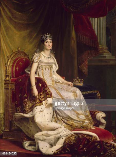 Joséphine de Beauharnais the first wife of Napoléon Bonaparte in Coronation costume 18071808 Found in the collection of the Musée national du Château...