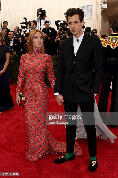 Josphine de La Baum and Mark Roenson attend the 'China Through The Looking Glass' Costume Institute Benefit Gala at the Metropolitan Museum of Art on...