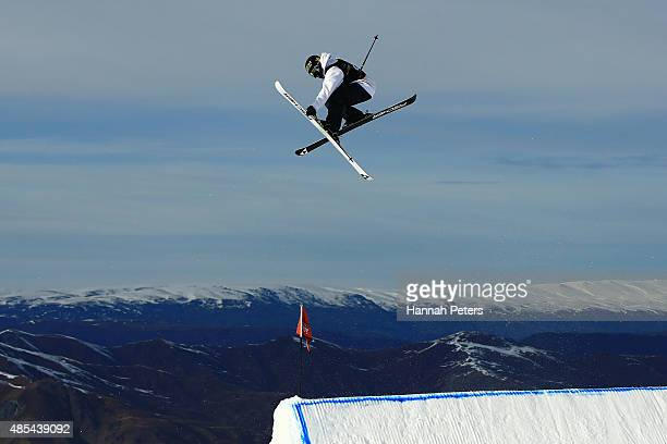 Joss Christensen of the United States competes in the FIS Freestyle Ski World Cup Slopestyle Finals during the Winter Games NZ at Cardrona Alpine...