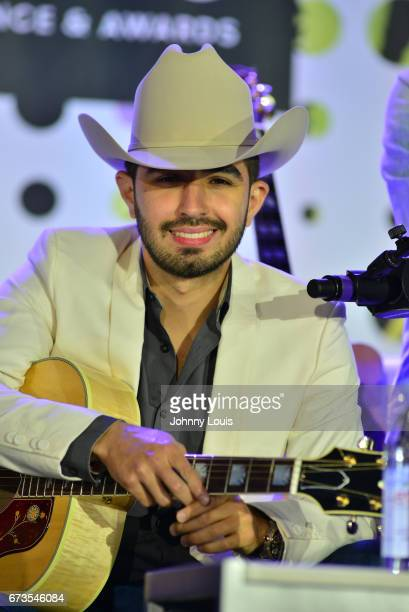 Joss Favela during The Billboard Latin Music Conference Awards Songwriters The New Generation panel at Ritz Carlton South Beach on April 26 2017 in...