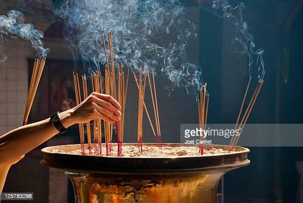 Joss sticks and incense