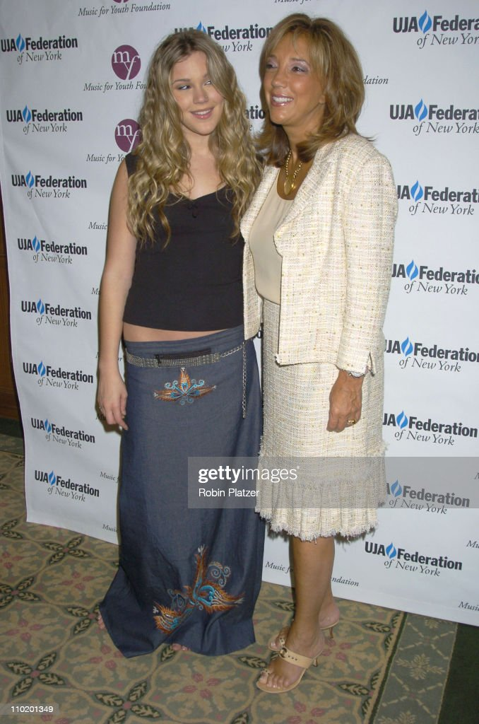 Joss Stone and Denise Rich during UJA Luncheon Honoring David Munns and Rob Glaser at The Pierre Hotel in New York City, New York, United States.