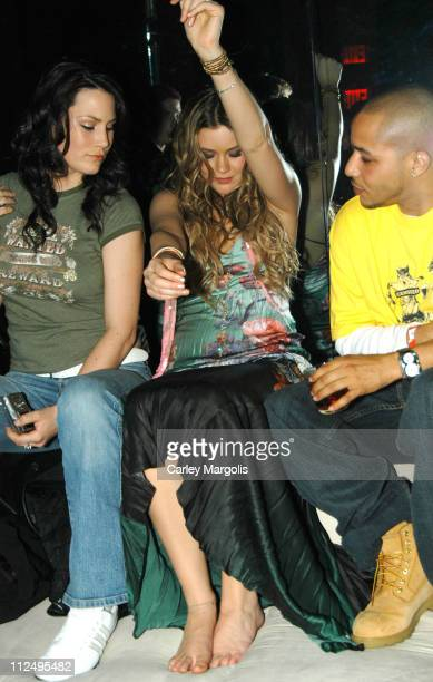 Joss Stone and guests during VH1 Save The Music A Concert To Benefit The VH1 Save The Music Foundation After Party at Aer in New York City New York...