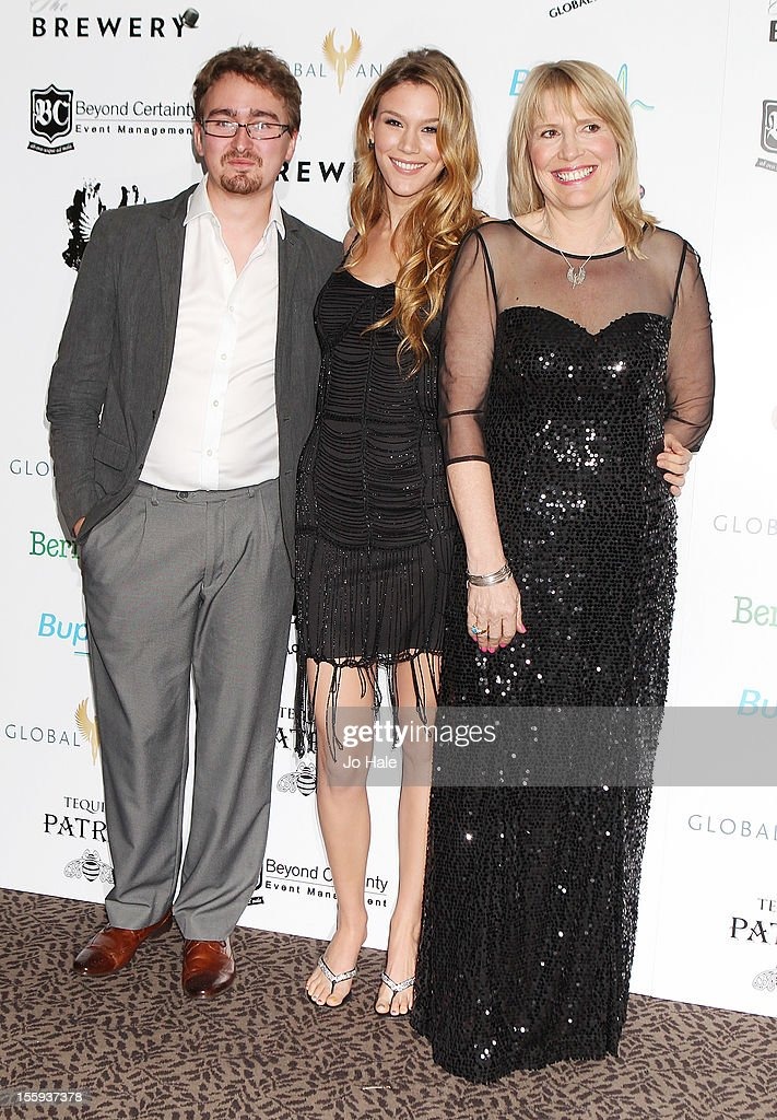 <a gi-track='captionPersonalityLinkClicked' href=/galleries/search?phrase=Joss+Stone&family=editorial&specificpeople=201922 ng-click='$event.stopPropagation()'>Joss Stone</a> and Molly Bedingfield attend The Global Angels Awards at The Brewery on November 9, 2012 in London, England.