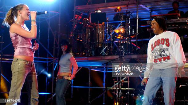 Joss Stone and Smokey Robinson rehearsing 'I Second That Emotion'
