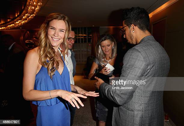 Joss Stone attends the Sentebale Summer Party at the Dorchester Hotel on May 7 2014 in London England