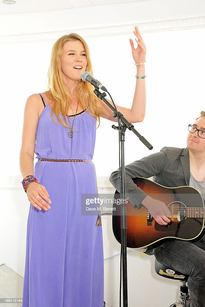 <a gi-track='captionPersonalityLinkClicked' href=/galleries/search?phrase=Joss+Stone&family=editorial&specificpeople=201922 ng-click='$event.stopPropagation()'>Joss Stone</a> performs a lunch hosted by Len Blavatnik, Harvey Weinstein and Warner Music during the 66th Cannes Film Festival on board the Odessa at Old Port on May 19, 2013 in Cannes, France.