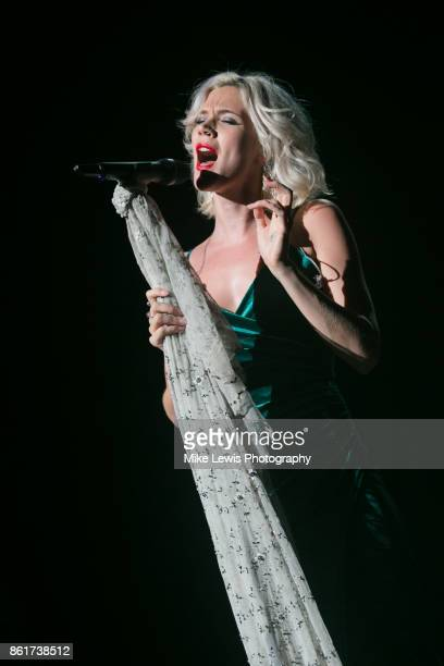 Joss Stone performs at St David's Hall on October 15 2017 in Cardiff Wales