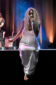 Joss Stone performs during the 23rd Istanbul Jazz Festival at Zorlu Center on July 23 2016 in Istanbul Turkey