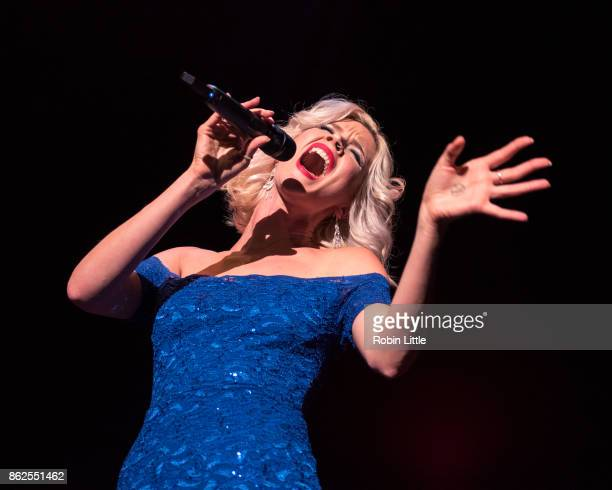 Joss Stone performs live on stage at The Royal Festival Hall on October 17 2017 in London England