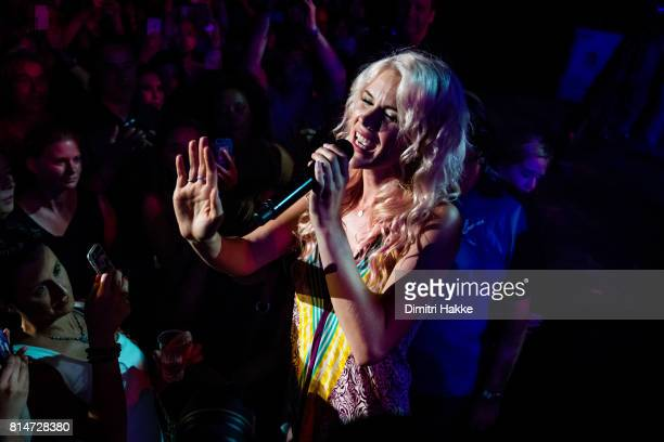 Joss Stone performs on stage at Port of Rotterdam North Sea Jazz festival at Ahoy on July 07 2017 in Rotterdam Netherlands