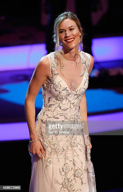 Joss Stone performs on stage during The Royal British Legion's Festival of Remembrance matinee performance at Royal Albert Hall on November 8 2014 in...