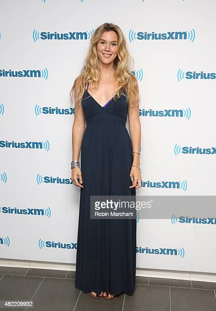 Joss Stone visits at SiriusXM Studios on July 28 2015 in New York City