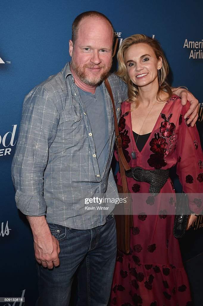 Joss Whedon and producer Caroline Williams attend The Hollywood Reporter's 4th Annual Nominees Night at Spago on February 8 2016 in Beverly Hills...