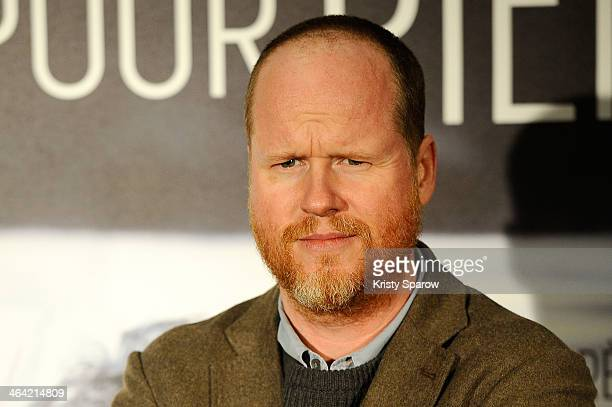 Joss Whedon attends the 'Much Ado About Nothing' Paris Premiere at Cinema UGC Normandie on January 21 2014 in Paris France