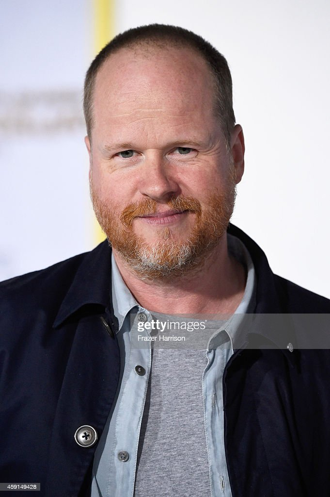 Joss Whedon attends the premiere of Lionsgate's 'The Hunger Games Mockingjay Part 1' at Nokia Theatre LA Live on November 17 2014 in Los Angeles...