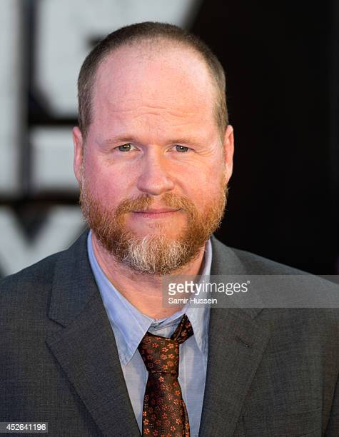 Joss Whedon attends the UK Premiere of 'Guardians of the Galaxy' at Empire Leicester Square on July 24 2014 in London England