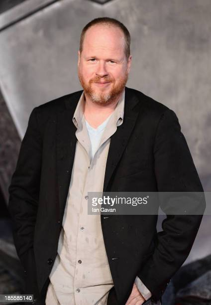 Joss Whedon attends the World Premiere of 'Thor The Dark World' at Odeon Leicester Square on October 22 2013 in London England