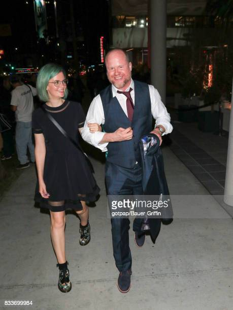 Joss Whedon is seen on August 16 2017 in Los Angeles California