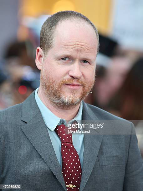 Joss Wheldon attends the European premiere of 'The Avengers Age Of Ultron' at Westfield London on April 21 2015 in London England