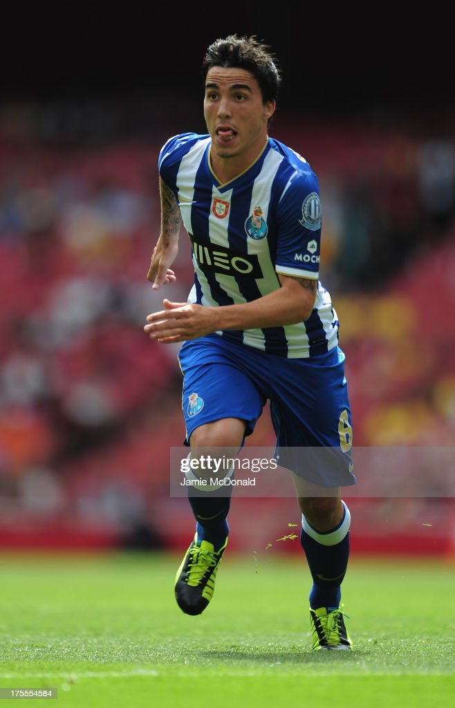 Josue of FC Porto in action during the Emirates Cup match between Napoli and FC Porto at the Emirates Stadium on August 4, 2013 in London, England.