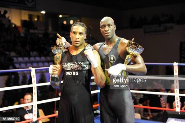 Josue SOLMONT / Slimane SISSOKO Championnat de France Elite Savate Boxe Francaise 2009 Stade Coubertin Paris