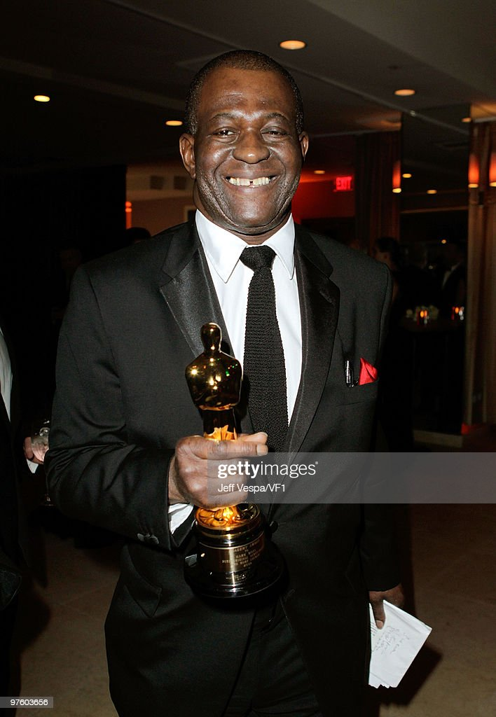 *EXCLUSIVE* Jounalist Baz Bamigboye attends the 2010 Vanity Fair Oscar Party hosted by Graydon Carter at the Sunset Tower Hotel on March 7, 2010 in West Hollywood, California.