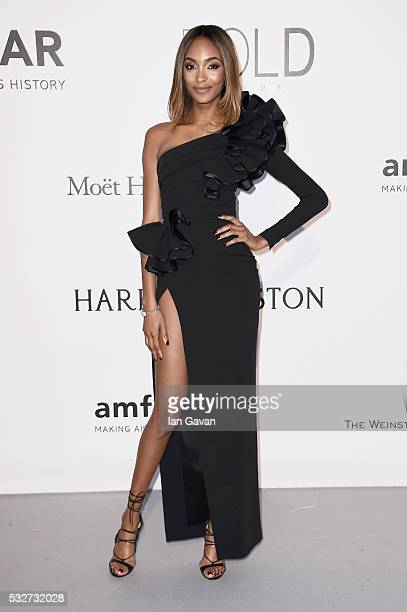 Jourdan Dunn arrives at amfAR's 23rd Cinema Against AIDS Gala at Hotel du CapEdenRoc on May 19 2016 in Cap d'Antibes France