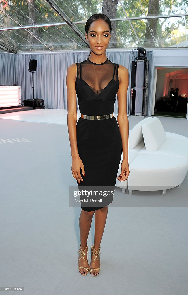 Jourdan Dunn arrives at the Glamour Women of the Year Awards in association with Pandora at Berkeley Square Gardens on June 4 2013 in London England
