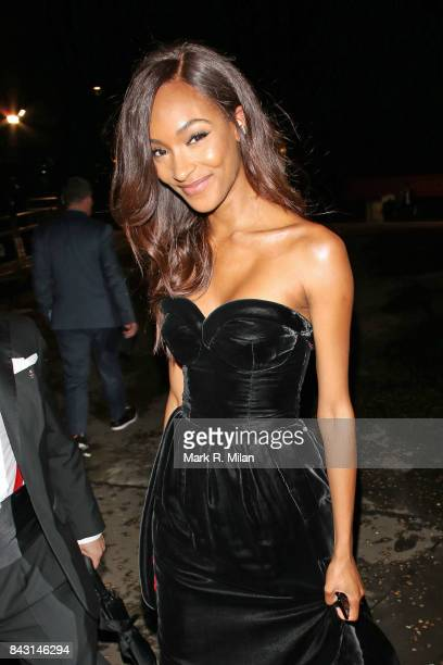 Jourdan Dunn attending the GQ awards on September 5 2017 in London England