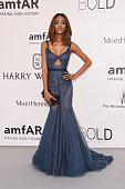 Jourdan Dunn attends amfAR's 22nd Cinema Against AIDS Gala Presented By Bold Films And Harry Winston at Hotel du CapEdenRoc on May 21 2015 in Cap...