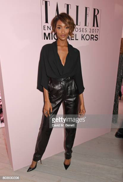 Jourdan Dunn attends Tatler's English Roses 2017 in association with Michael Kors at the Saatchi Gallery on June 29 2017 in London England