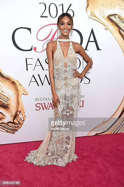 Jourdan Dunn attends the 2016 CFDA Fashion Awards at the Hammerstein Ballroom on June 6 2016 in New York City