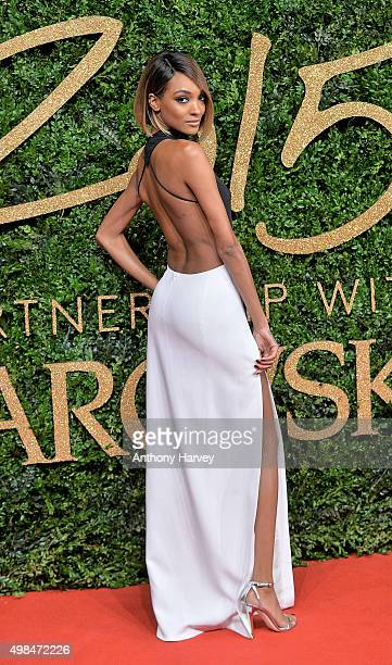 Jourdan Dunn attends the British Fashion Awards 2015 at London Coliseum on November 23 2015 in London England