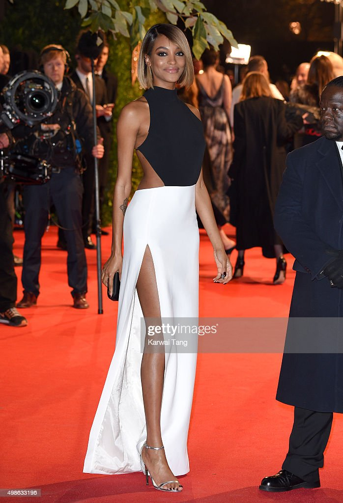 Jourdan Dunn attends the British Fashion Awards 2015 at London Coliseum on November 23, 2015 in London, England.