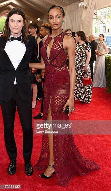 Jourdan Dunn attends the 'China Through The Looking Glass' Costume Institute Benefit Gala at the Metropolitan Museum of Art on May 4 2015 in New York...