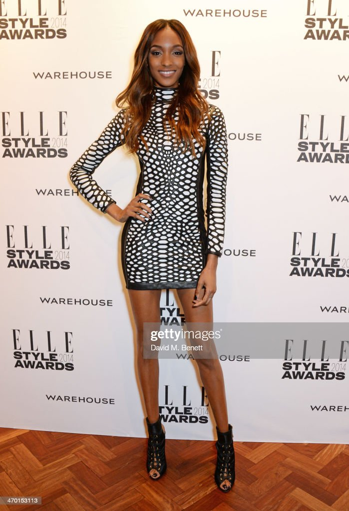 Jourdan Dunn attends the Elle Style Awards 2014 at One Embankment on February 18, 2014 in London, England.